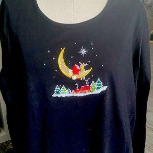 Woman's Christmas shirt!